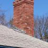 Picture of chimney from the rooftop